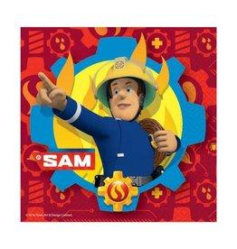 Brandweerman Sam servetten 20 stuks 33 x 33 cm