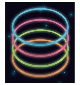 Amscan lichtgevende halskettingen 4 stuks div kleuren