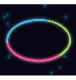 Amscan lichtgevende halskettingen 4 stuks 3 kleuren