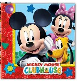 Servetten Mickey Mouse 33x33cm