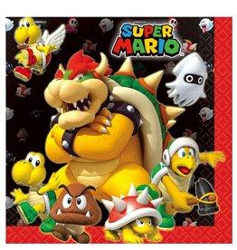 Super Mario servetten 20 stuks 33 x 33 cm