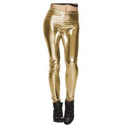 Boland legging goud stretch