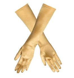 Boland handschoen elleboog Monte Carlo goud