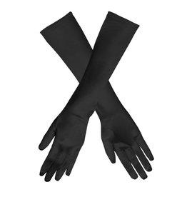 Boland handschoenen Monte Carlo satijn zwart