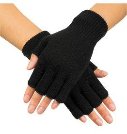 Boland vingerloze handschoenen zwart 1 paar