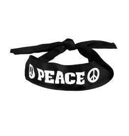 Boland hoofdband hippie (peace) 1 stuk
