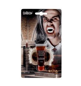 Boland vampierset (nep bloed 11 ml en tanden)