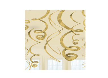 Swirls hangdecoratie