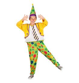 Boland kinderkostuum clown Jimbo 4-6 jaar