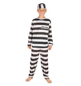Boland kinderkostuum gevangene 4-6 jaar