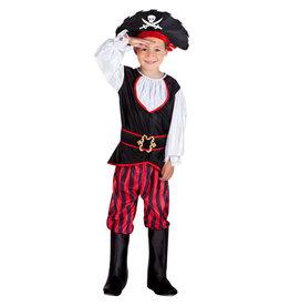 Boland kinderkostuum piraat Tom 4-6 jaar