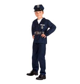 Boland kinderkostuum politieagent 4-6 jaar