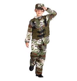Boland kinderkostuum soldaat 4-6 jaar