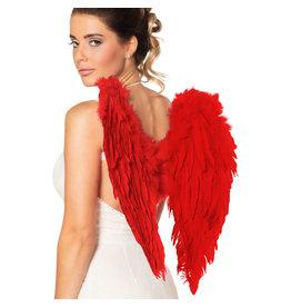 Boland engelenvleugels rood 50 x 50 cm