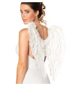 Boland engelenvleugels wit 50 x 50 cm