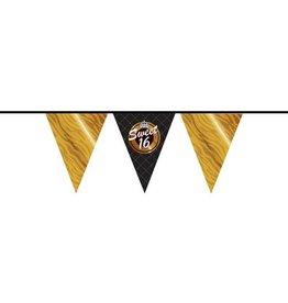 Sweet 16 vlaggenlijn 10 meter