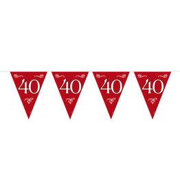 Vlaggenlijn 40 robijn