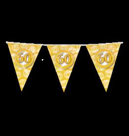 Party vlaggenlijn 60 jaar diamant 10 meter