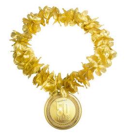 Hawaii krans goud 50