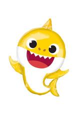 Amscan folieballon Baby Shark supershape 65 x 66 cm