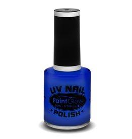 Paintglow neon UV nagellak blauw 12ml