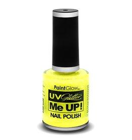 Paintglow neon UV nagellak geel 10 ml