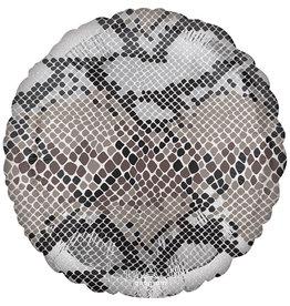 Amscan folieballon slangenprint 43 cm