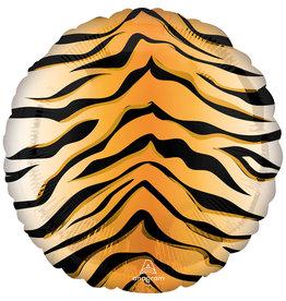 Amscan folieballon tijgerprint 43 cm