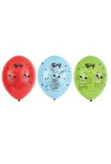 Amscan Bing latex ballonnen 6 stuks