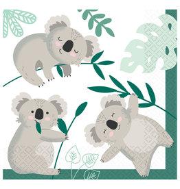 Koala servetten 16 stuks 33 x 33 cm