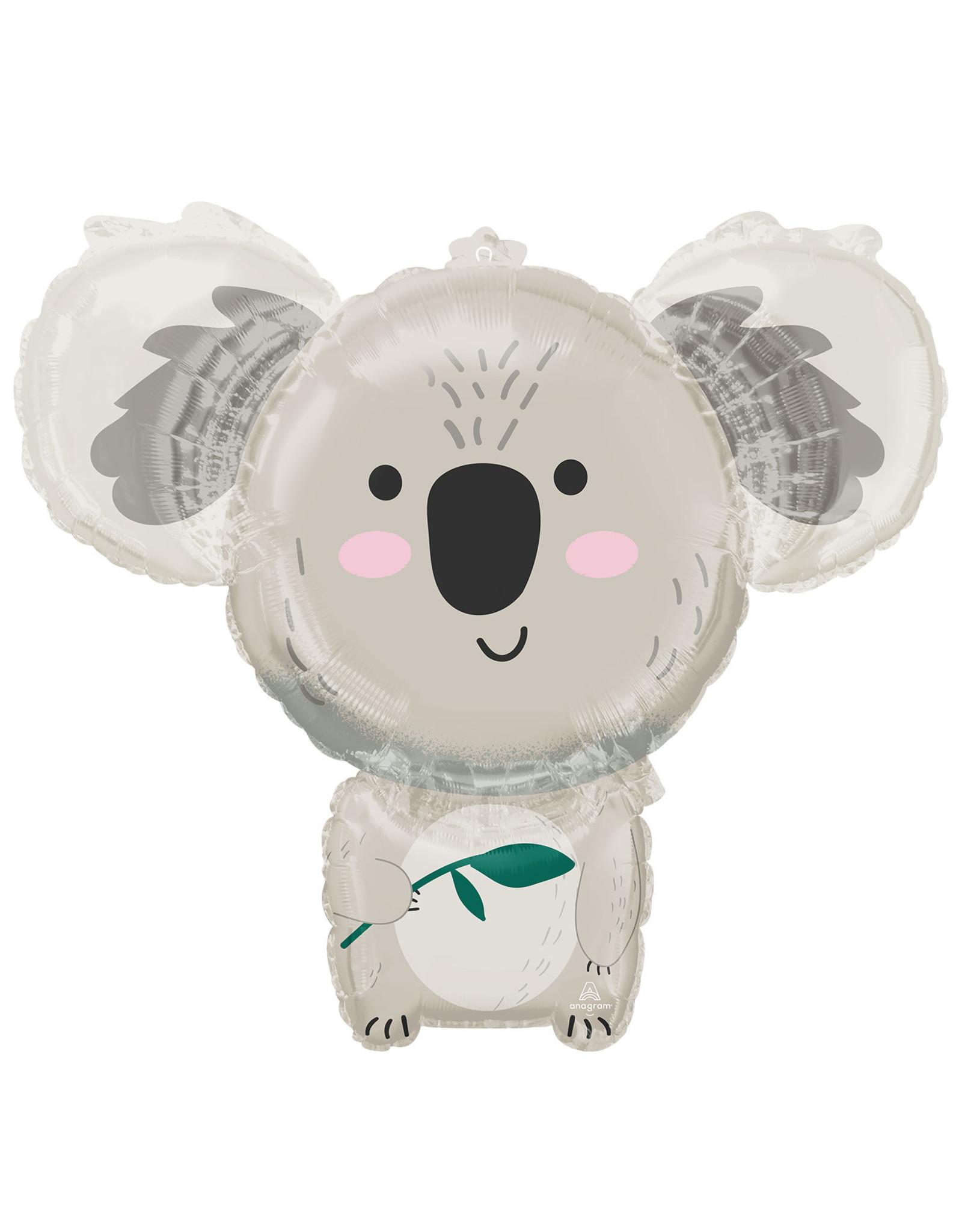 Amscan folieballon koala supershape 71 x 63 cm