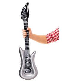 Opblaasbare gitaar zilver 100 cm