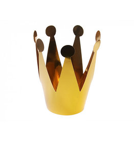 Kroontjes goud groot 3 stuks