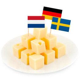 Party prikkers Europa 50 stuks