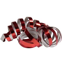 Folat serpentines rood metallic 2x 18x 4 meter