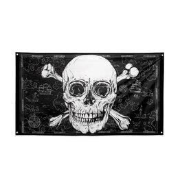 Boland piratenvlag 150 x 90 cm
