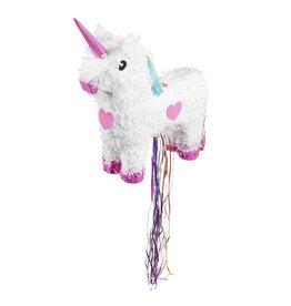 Boland pinata unicorn wit 1 stuk