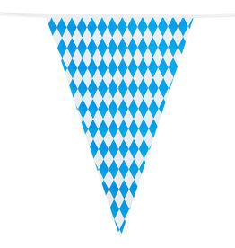 Boland reuzenvlaggenlijn oktoberfest dubbelzijdig 8 meter