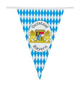 Boland vlaggenlijn oktoberfest Freistaat Bayern 10 meter