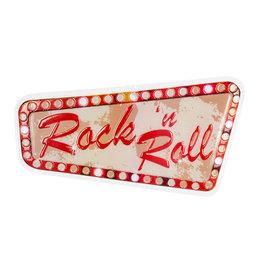 Boland Rock 'n Roll wanddecoratie brandvertragend 1 stuk