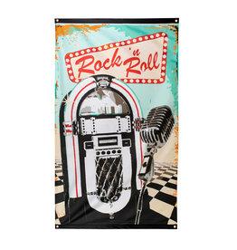 Boland Rock 'n Roll vlag 90 x 150 cm