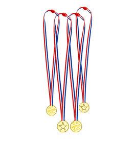 Boland uitdeelcadeautjes 4 medailles winaar