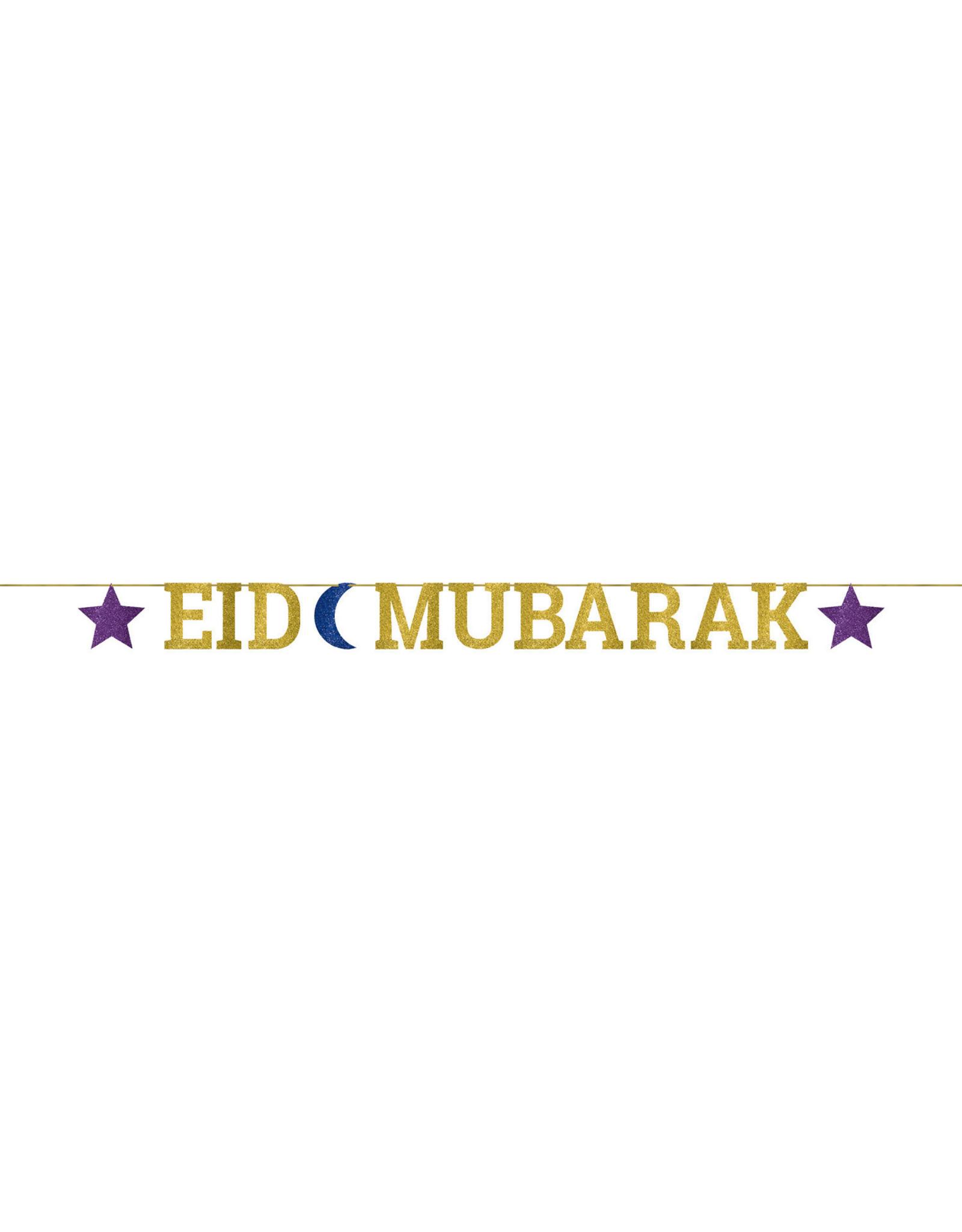 Amscan Eid Mubarak letterslinger