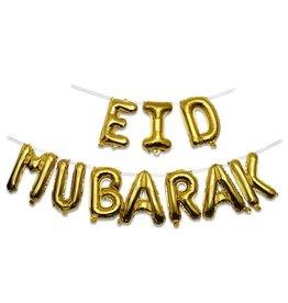Folieballonnenset Eid Mubarak 10-delig