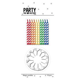 The party factory magic candles 10 stuks