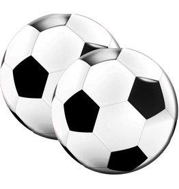 Servetten voetbal rond 33 cm 20 stuks