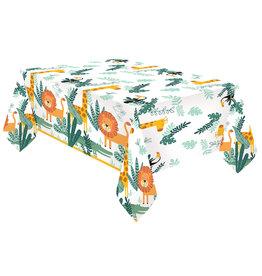 Amscan Get wild papieren tafelkleed 120 x 180 cm