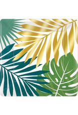 Amscan Key West borden 26 cm 8 stuks