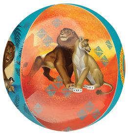 Amscan orbz lion king 38 cm