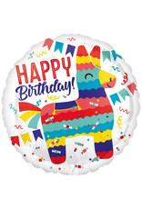 Amscan folieballon pinata party 43 cm